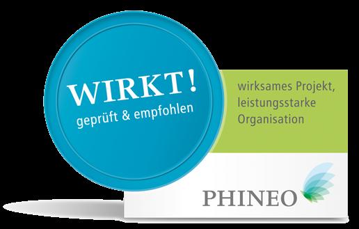 PHINEO-Wirkt-Siegel