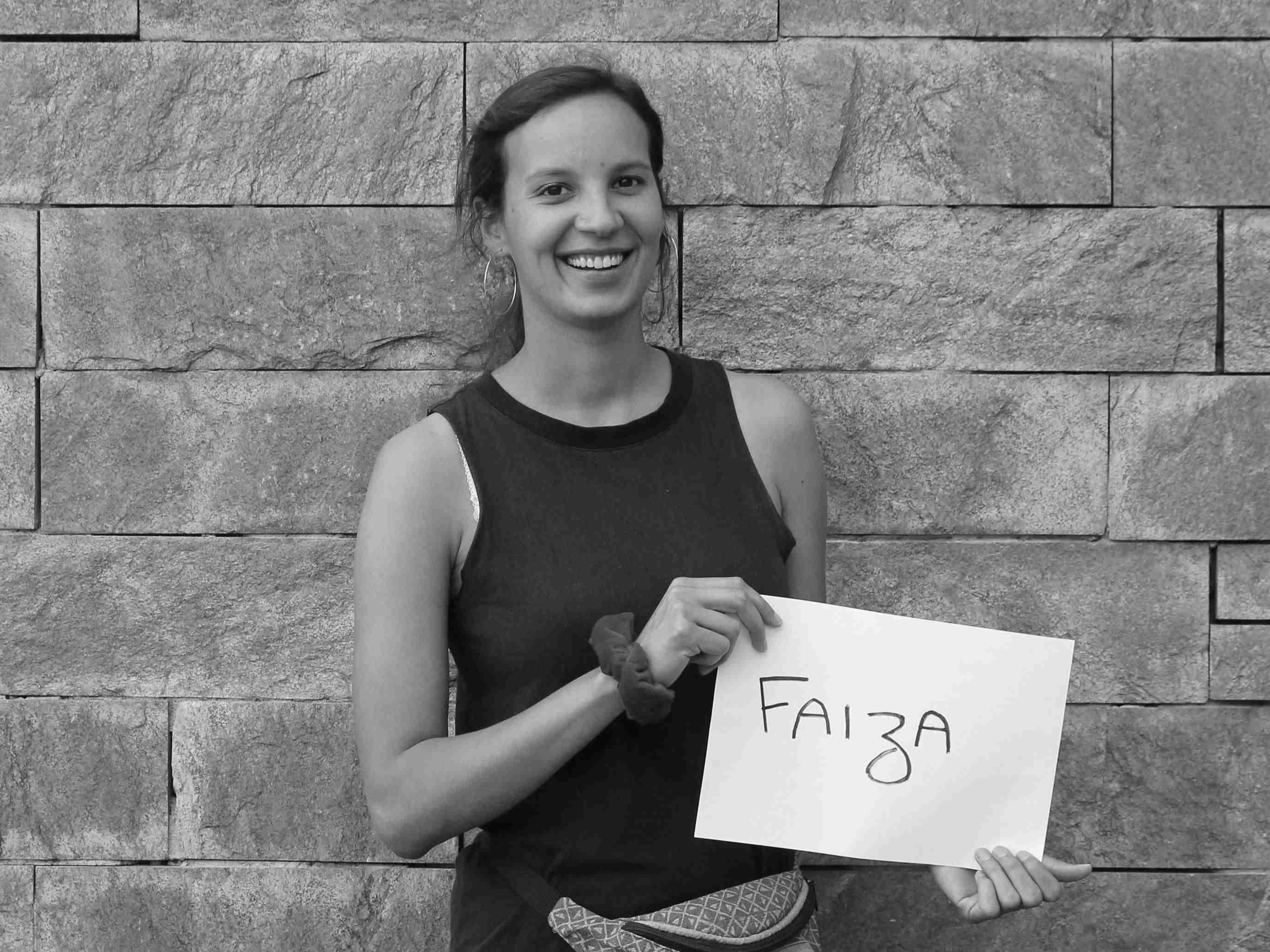 Faiza, Fellow 2018