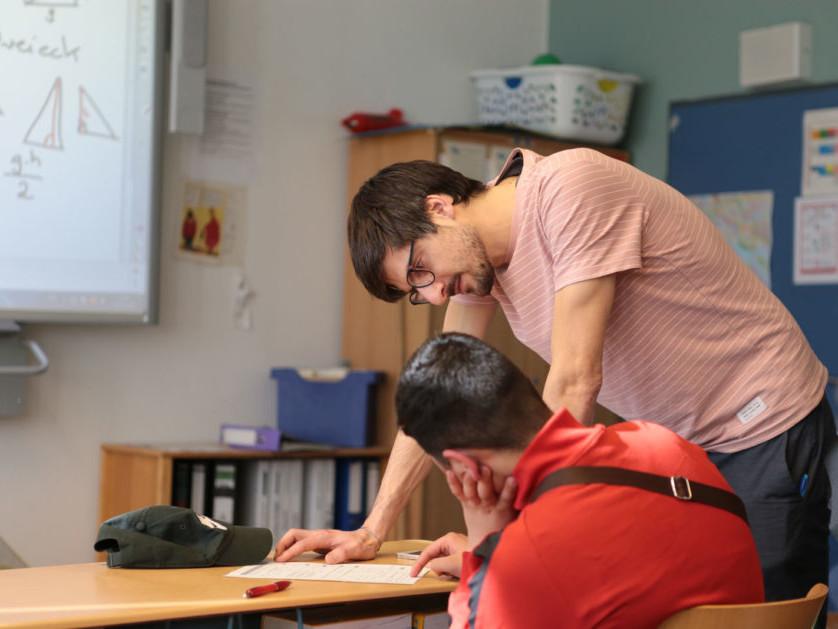 Dt. Schulportal_Eine nicht alltägliche Lernbeziehung_Fellow Fabian