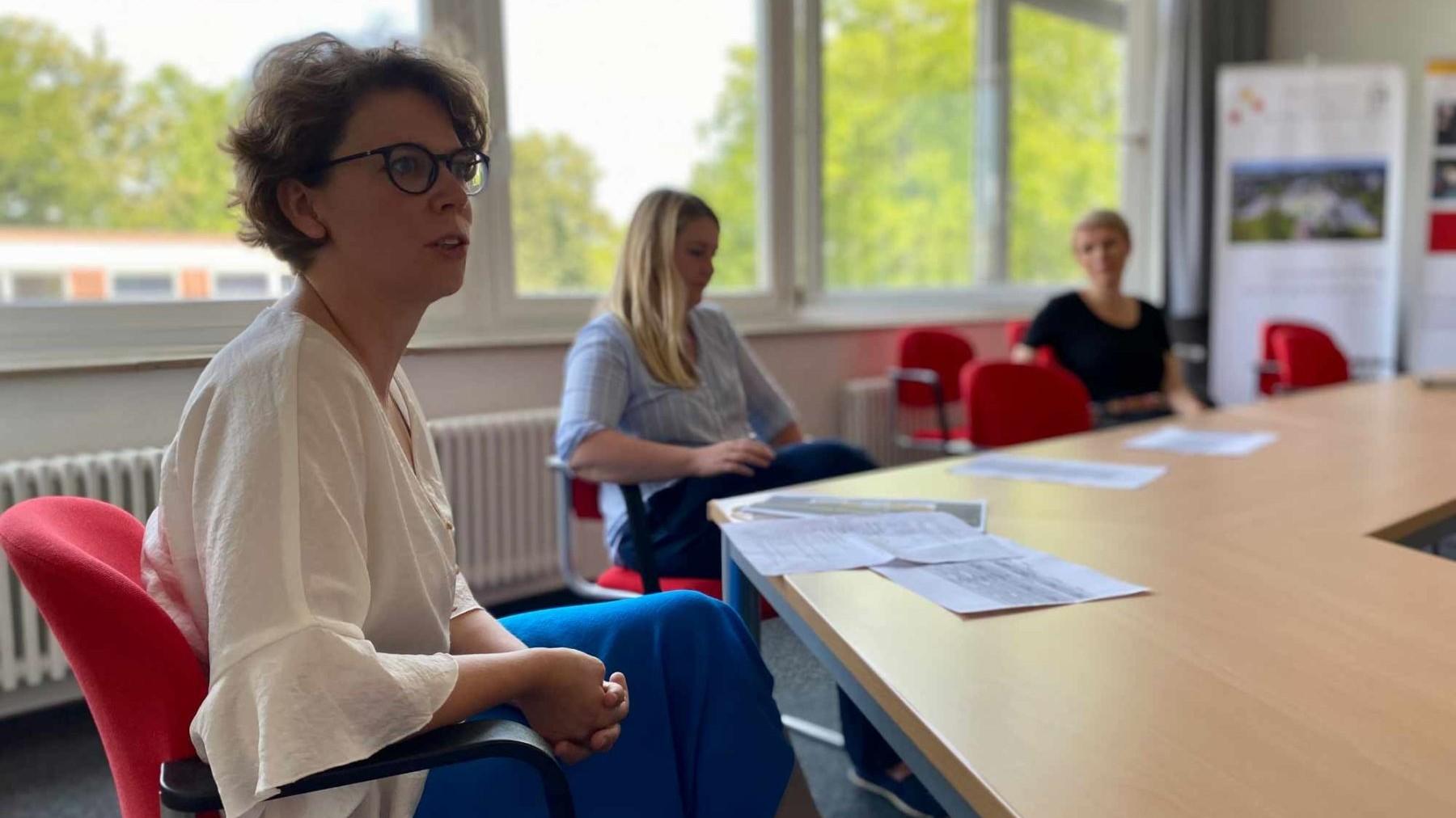 Teach First Blog Bildungssommer Heinrich-Heine-Gymnasium Pressekonferenz